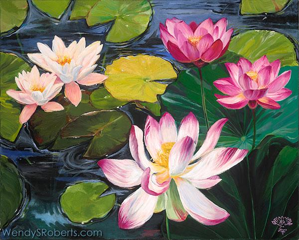Lotuses & Lilies