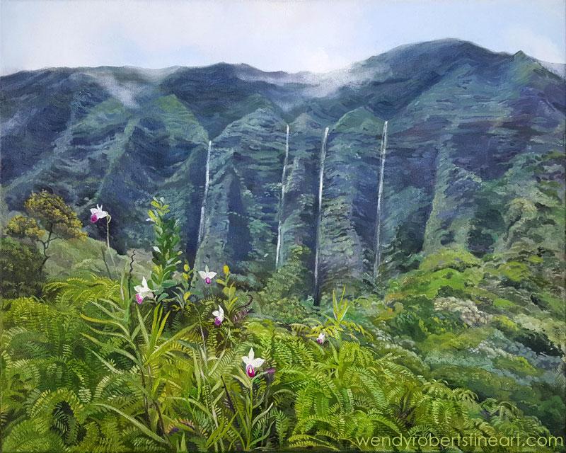 Koolau Orchids