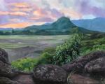 Sunrise at Na Pohaku o Hauwahine