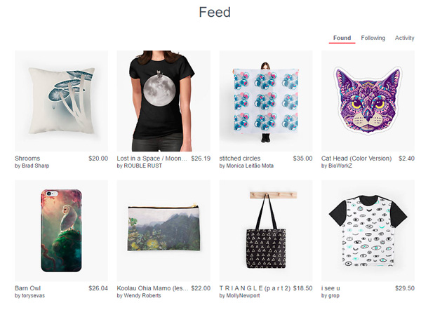 My RedBubble Day