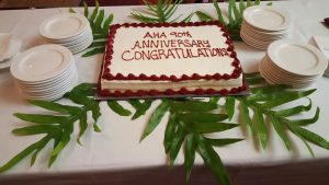 Association of Hawaii Artists cake