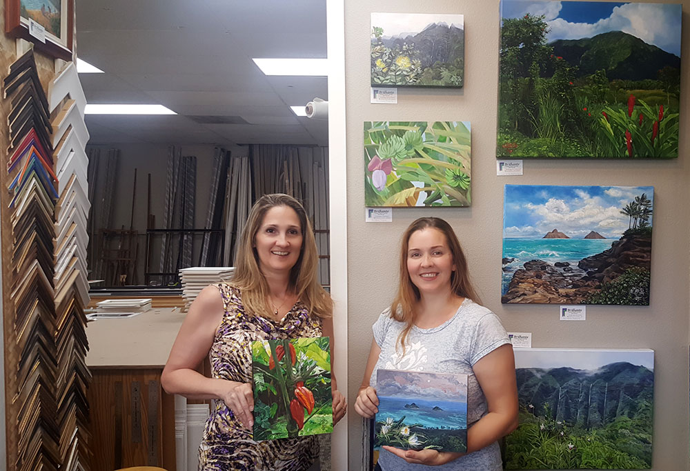 Brilhante Framing and Fine Art in Kailua