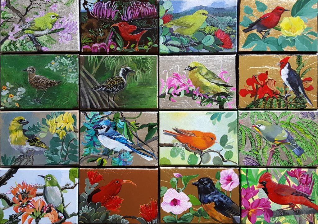All the Birds in Chronological Order