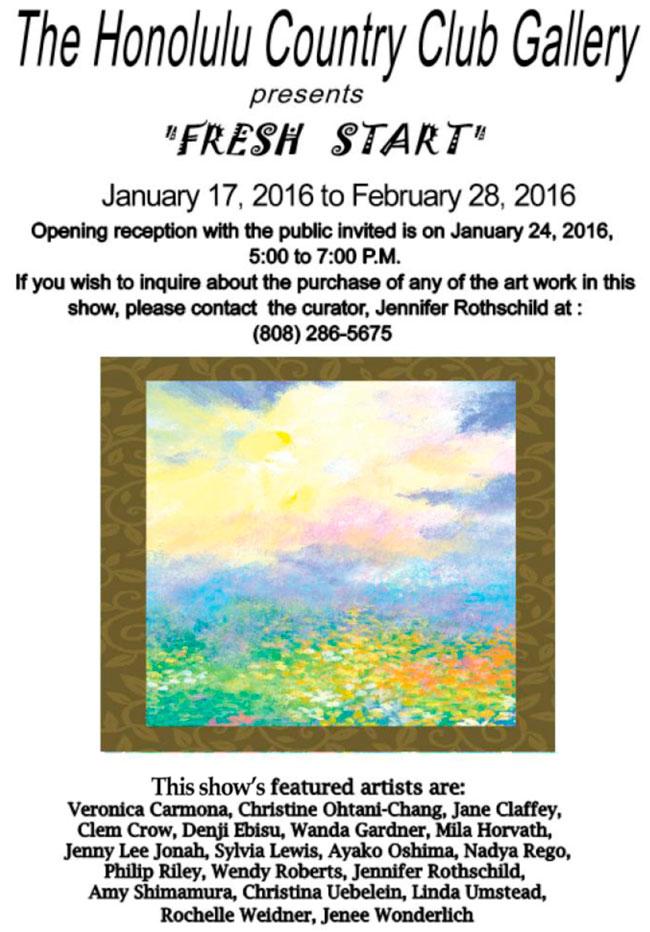 Fresh Start Invitation 2016
