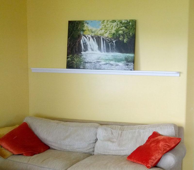 Kipu Falls in a Home