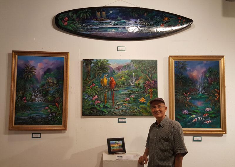 Jaime Mendame Hawaiian Artist