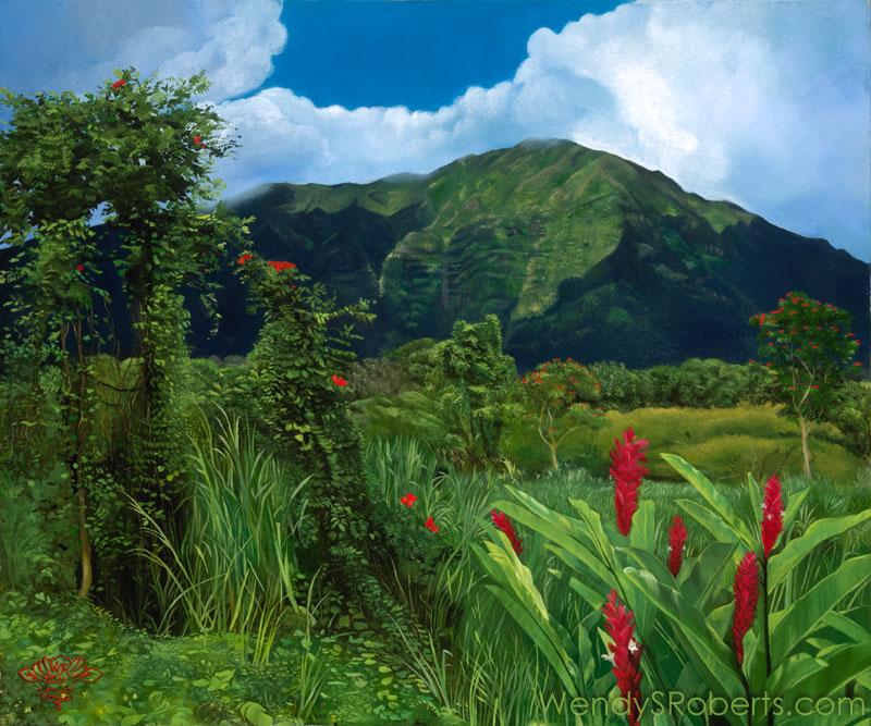 Maunawili by Wendy Roberts