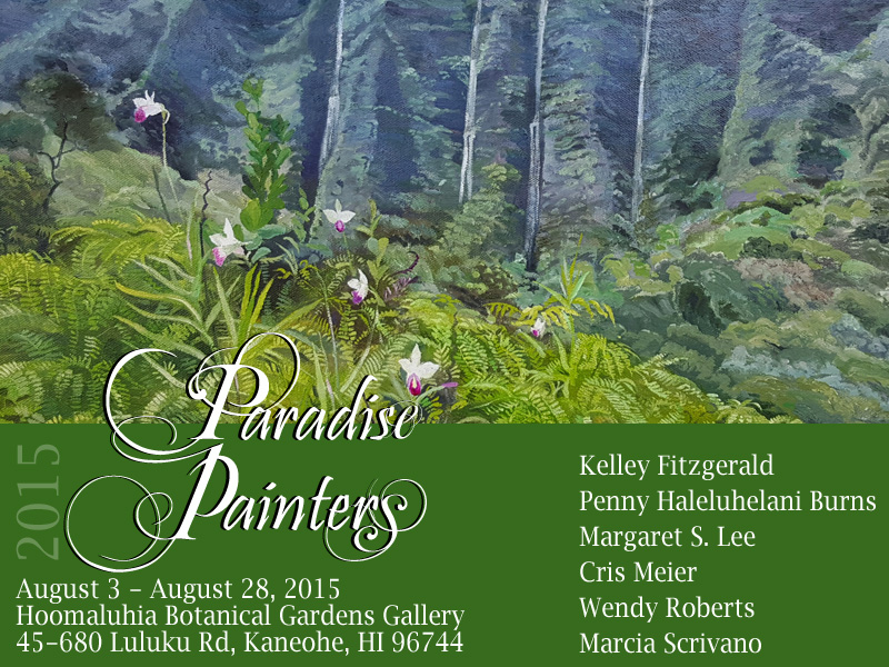 Paradise Painters Show at Hoomaluhia
