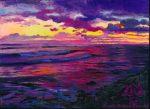 Seashore Dusk by Wendy Roberts