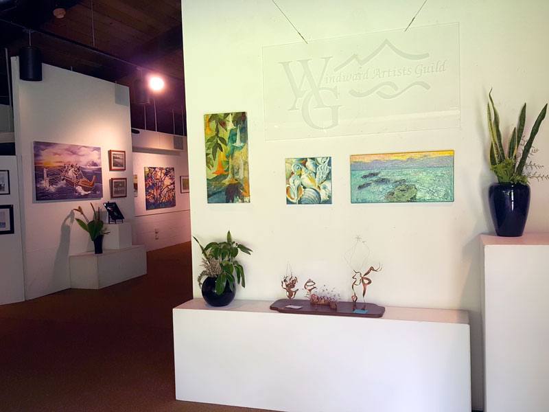 Windward Artists Guild 57th Annual Member Show 2016 at Hoomaluhia