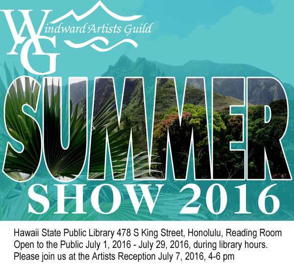 WAG Summer Show 2016Invitation2