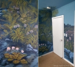 Enchanted Forest Mural Wall details from Walls 1 and 2