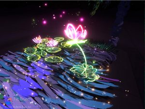 Cosmic Lotus Pond