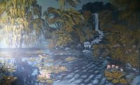 Enchanted Forest Mural by Wendy Roberts
