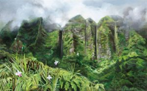 Ko'olau Mountains After the Storm by Wendy Roberts